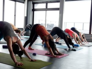 Yoga classes are a great way to maintain your health and well-being while on your winter holiday.