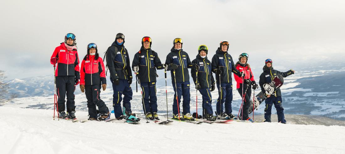 Hokkaido Ski Club team 2017/2018