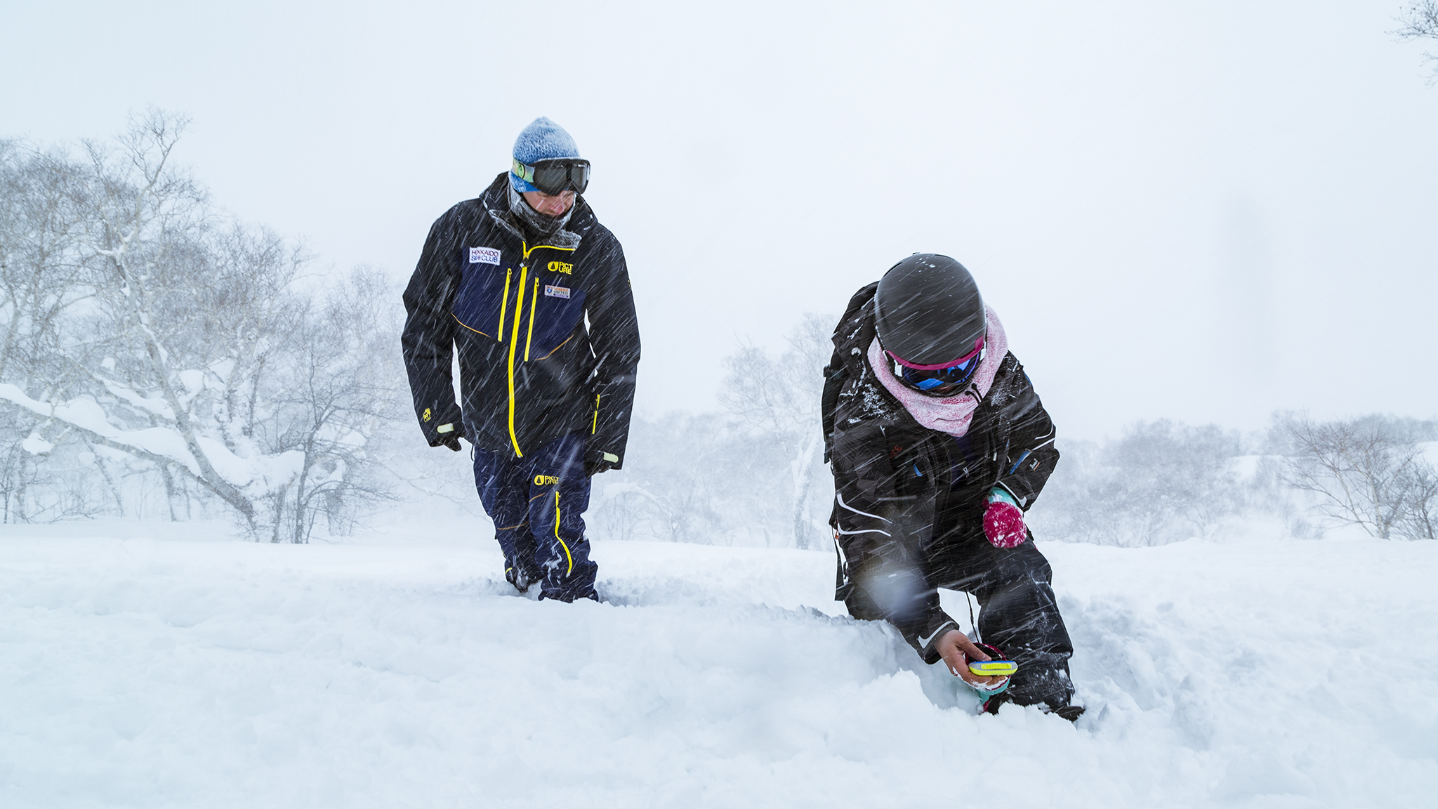 Be trained by a qualified guide to use avalanche equipment properly and stay safe on the mountain