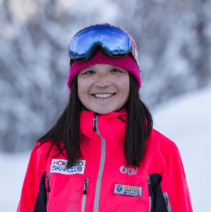 Anthea Hung, Co-Founder and Director of Hokkaido Ski Club, English speaking instructor