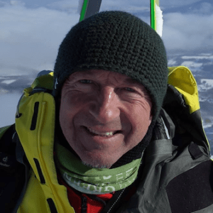 Cveto Podlagar, Freeride, Backcountry and Mountain Guide of Hokkaido Ski Club, Slovenian, Japanese and English speaking