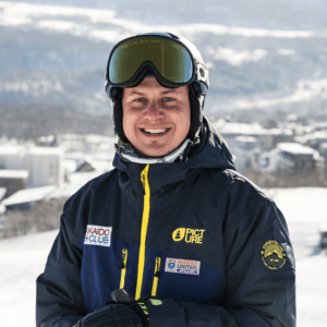 Miha Grilj, Co-Founder and Snowsports Manager of Hokkaido Ski Club, English speaking instructor