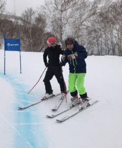 Coaching Slalom Racing at the 2017 Asian Winter Sapporo Games