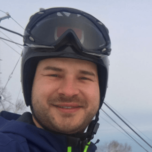 Slaven Badura, Ski Instructor and Race Coach of Hokkaido Ski Club, English speaking instructor