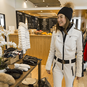 Have the latest ski wardrobe with personal shopper services