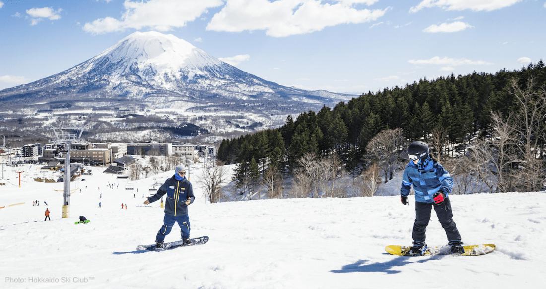 Enjoy spring skiing and snowboarding in Niseko with Hokkaido Ski Club