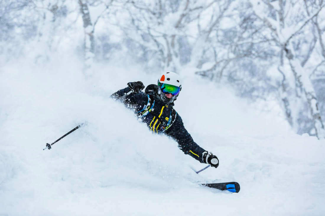 Experience the best powder when you are with a powder guide