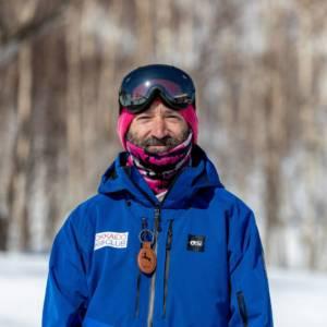 Adir Sharon, Hokkaido Ski Club ski and snowboard instructor