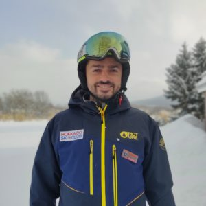 Adis Gobeljic, Ski Instructor and Alpine Race Coach, Hokkaido Ski Club, Niseko, Japan