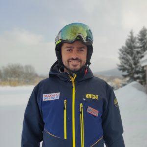 Adis Gobeljic, Ski Instructor and Alpine Race Coach, Hokkaido Ski Club, Niseko, Japan