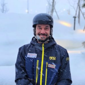 Boris Duzic, Ski and Snowboard Instructor, Hokkaido Ski Club, Niseko, Japan