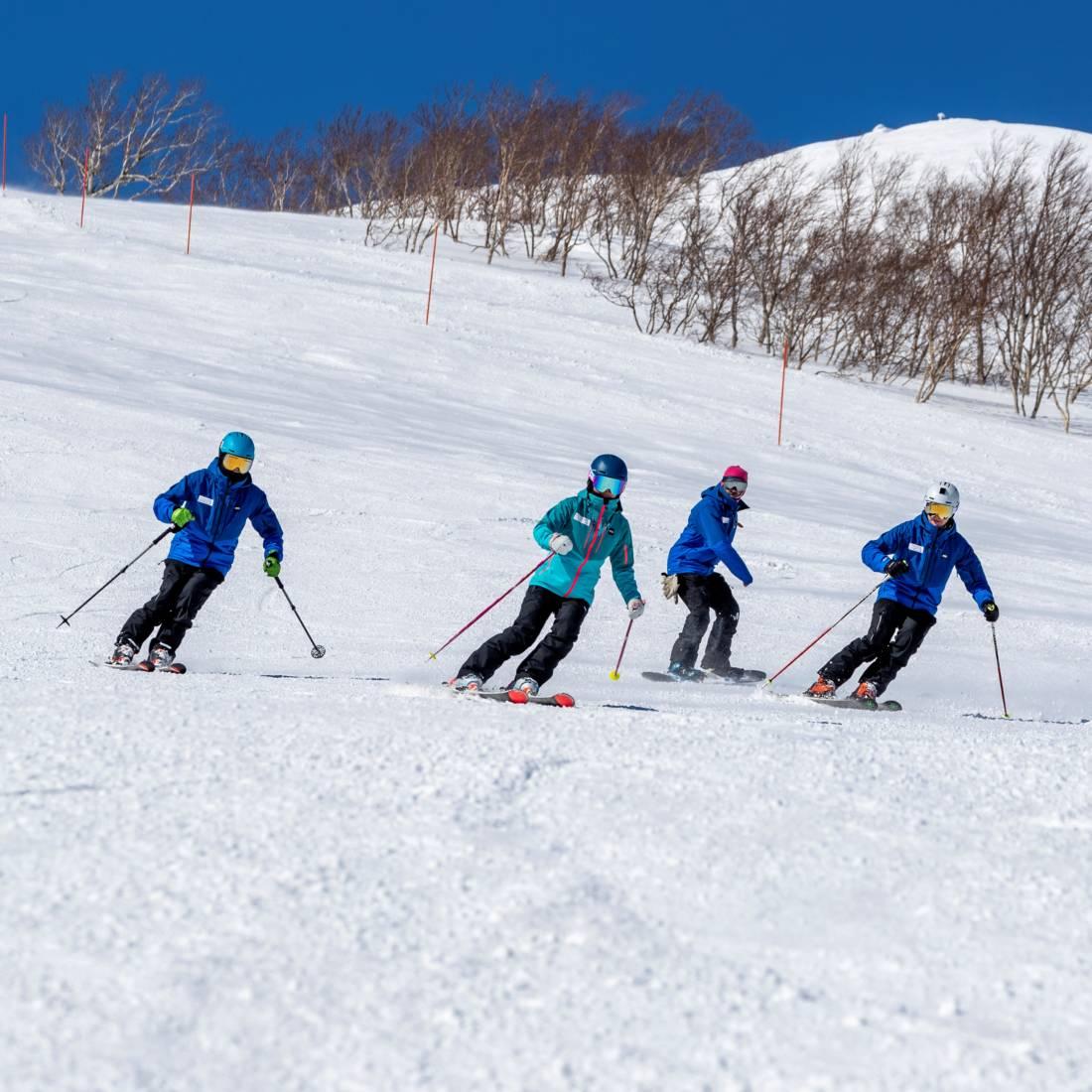 Hokkaido Ski Club ski and snowboard instructors