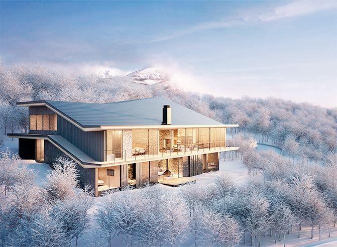 Upcoming new Niseko real estate development in Hanazono