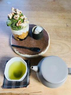 Yakushima Shincha and Matcha Parfait
