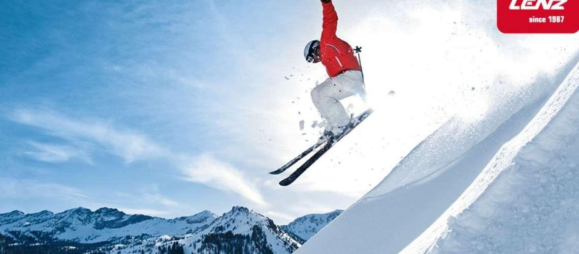 Ski big with Lenz