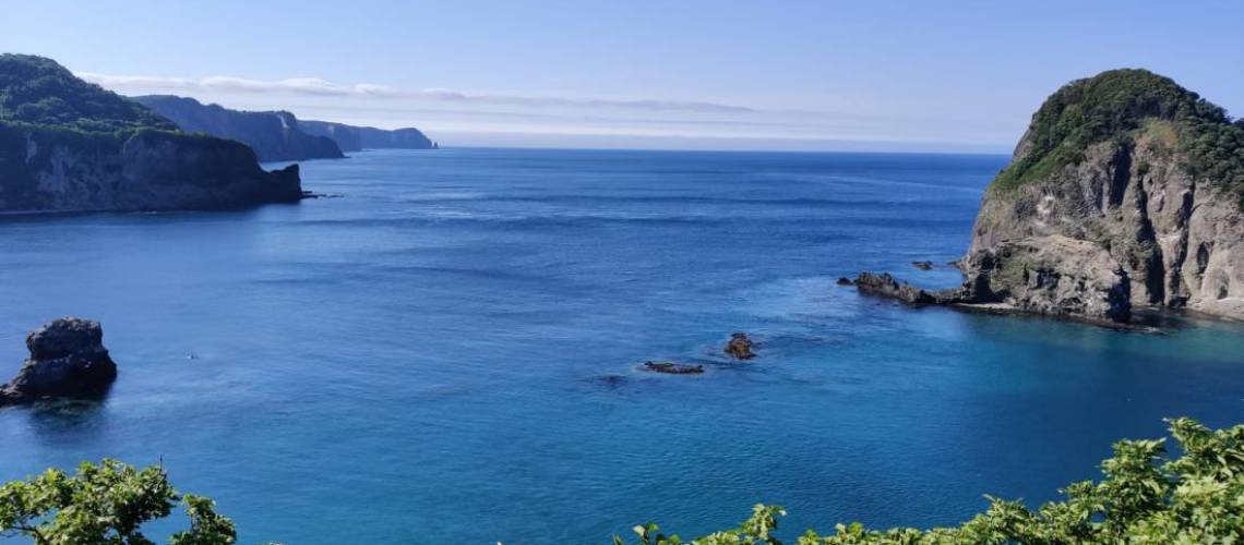 Sea views in summer