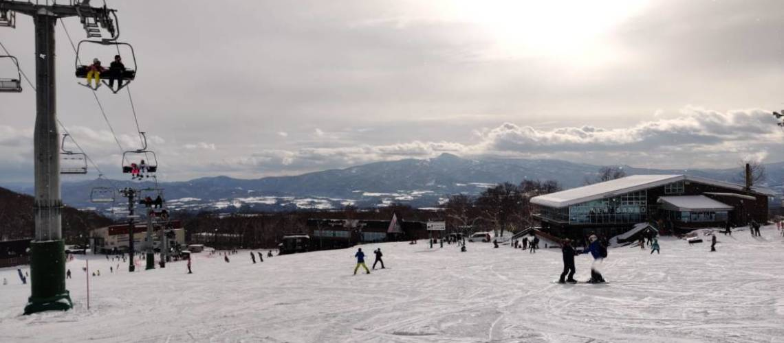 Ski slopes at Annupuri resort are great for beginners