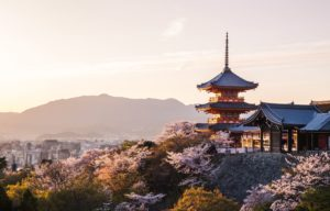 Views of Japan temples and nature